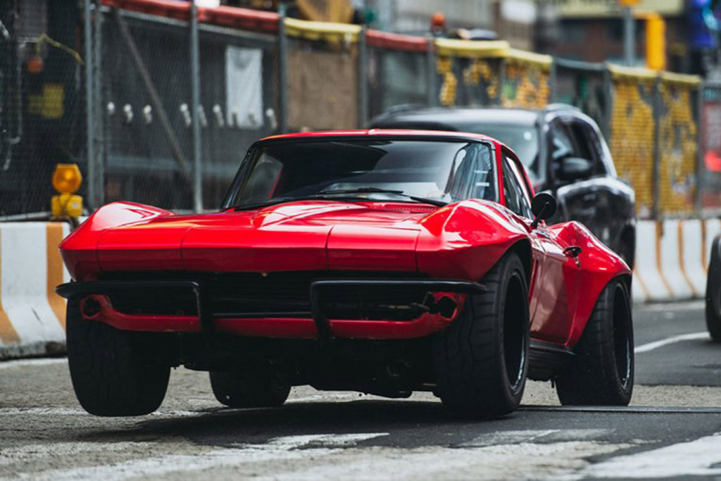 """The Fate of the Furious"": Chevrolet Corvette Stingray"