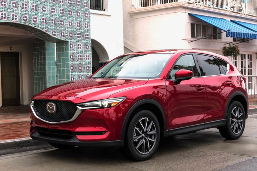 2017 Mazda CX-5 in Soul Red Crystal Metallic