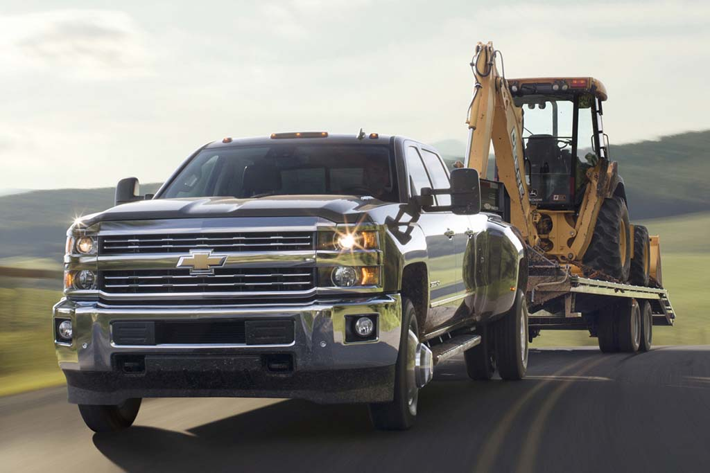 Chevrolet Silverado 2500HD and 3500HD