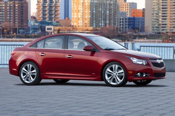 2012 Chevrolet Cruze: New Car Review featured image large thumb1