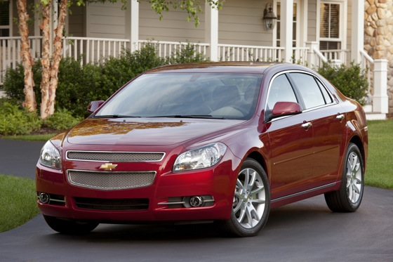 2012 Chevrolet Malibu: New Car Review featured image large thumb0