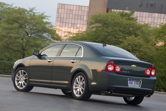 2012 Chevrolet Malibu: New Car Review featured image large thumb2