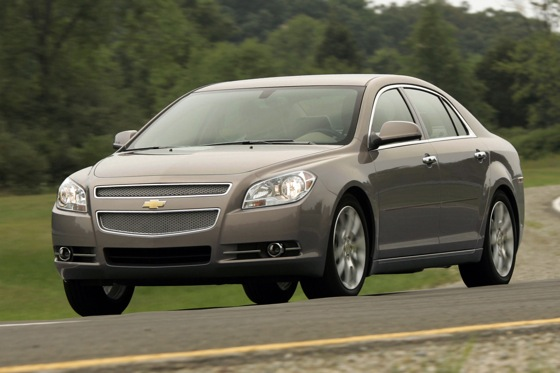 2012 Chevrolet Malibu: New Car Review featured image large thumb3