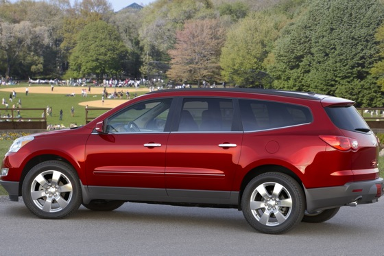 2012 Chevrolet Traverse: New Car Review featured image large thumb1