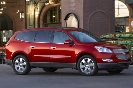 2012 Chevrolet Traverse: New Car Review featured image large thumb2