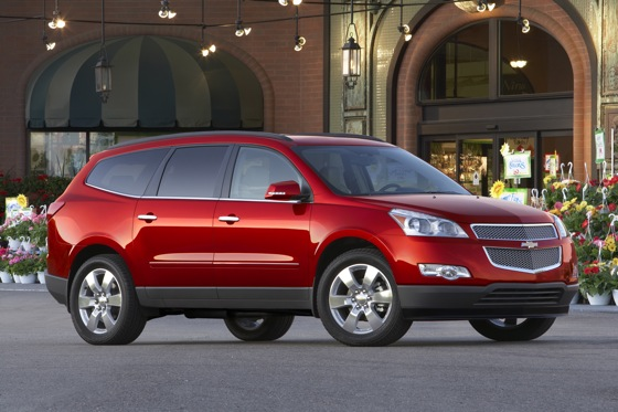2012 Chevrolet Traverse: New Car Review featured image large thumb3