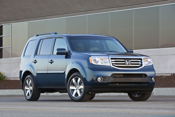 Honda Tweaks Pilot SUV for 2012