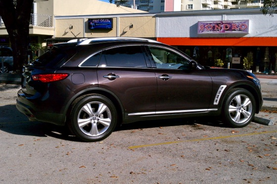 Certified Infiniti FX35: Long-Term Introduction featured image large thumb2