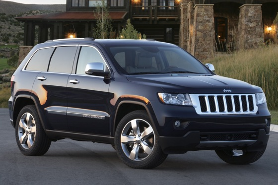 2012 Jeep Grand Cherokee: OEM Image Gallery
