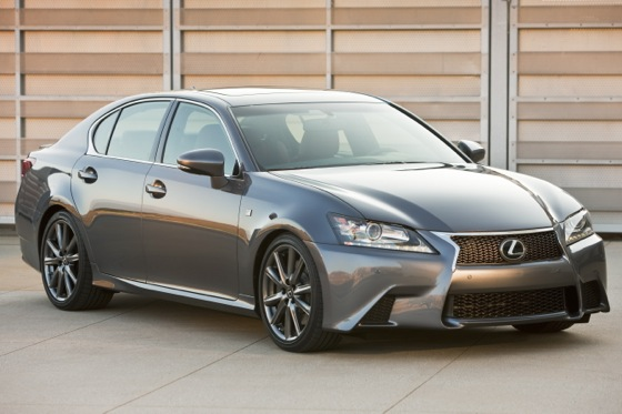 2013 Lexus GS 350 F-Sport: Real-World Test