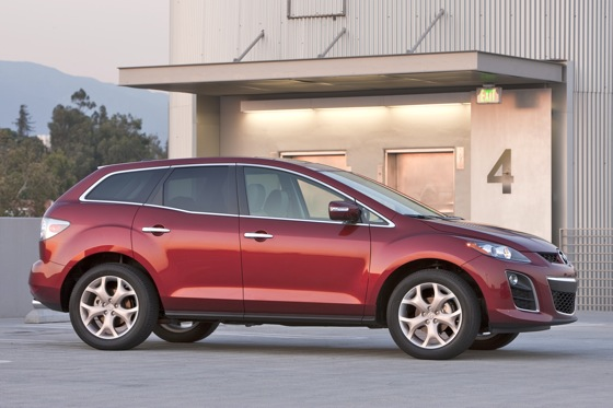 2012 Mazda CX-7: New Car Review featured image large thumb1