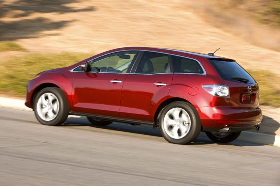 2012 Mazda CX-7: New Car Review featured image large thumb3