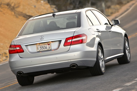 2012 Mercedes Benz E-Class: New Car Review featured image large thumb2