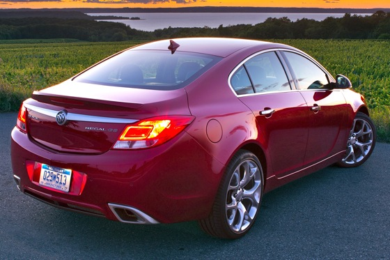 2012 Buick Regal: Buick Builds a European Sedan featured image large thumb2