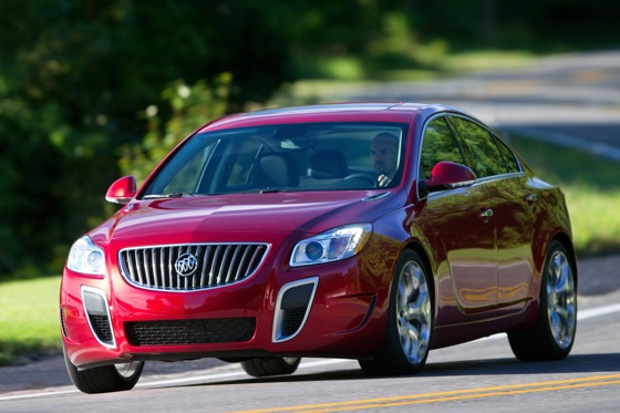 2012 Buick Regal: Buick Builds a European Sedan featured image large thumb3