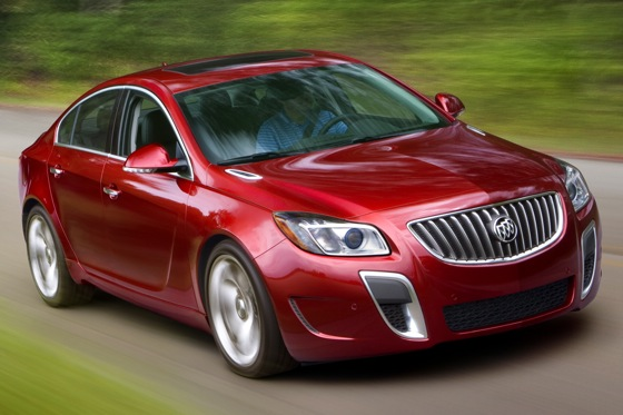 2012 Buick Regal: New Car Review featured image large thumb4