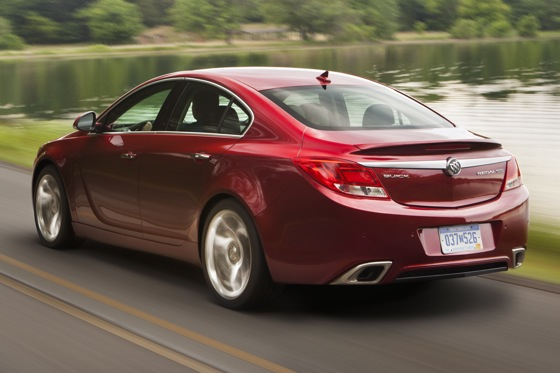 2012 Buick Regal: Buick Builds a European Sedan featured image large thumb4