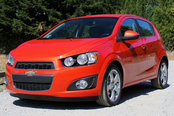 2012 Chevrolet Sonic - New Car Review featured image large thumb0