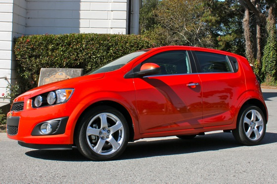 2012 Chevrolet Sonic - New Car Review featured image large thumb1