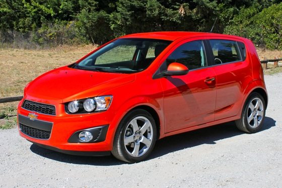 2012 Chevrolet Sonic - New Car Review featured image large thumb2