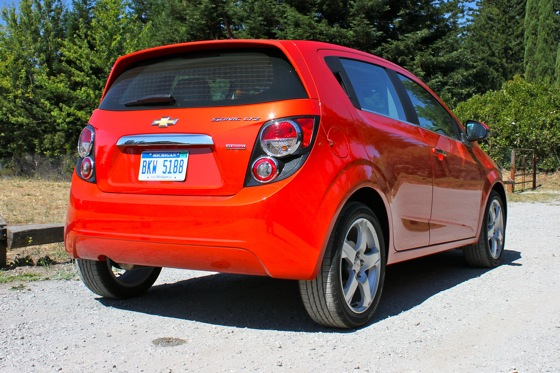 2012 Chevrolet Sonic LT - Real World Test featured image large thumb4