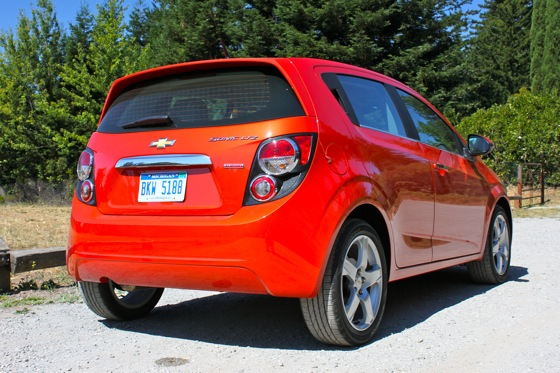 2012 Chevrolet Sonic LT - Real World Test featured image large thumb5