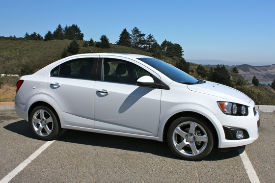 2012 Chevrolet Sonic LT - Real World Test featured image large thumb13