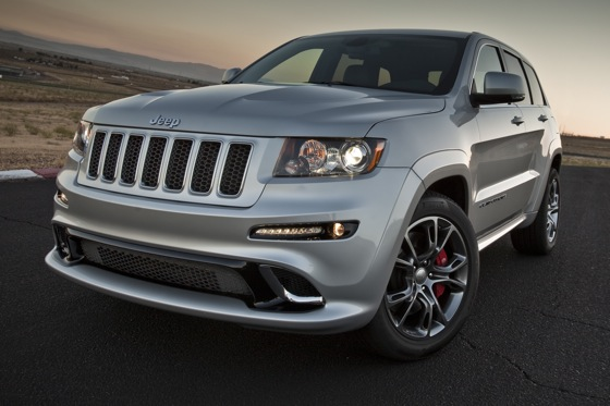 2012 Jeep Grand Cherokee SRT8 - First Drive