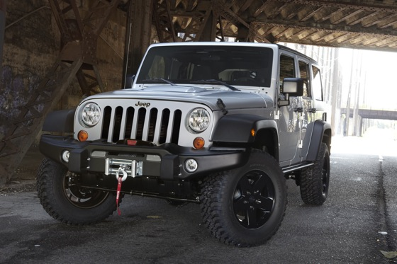 2012 Jeep Wrangler Call of Duty - Image Gallery