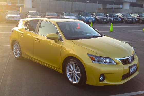 2012 Lexus CT200h - Real World Test