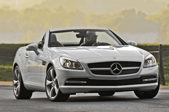 2012 Mercedes-Benz SLK350: First Look featured image large thumb0