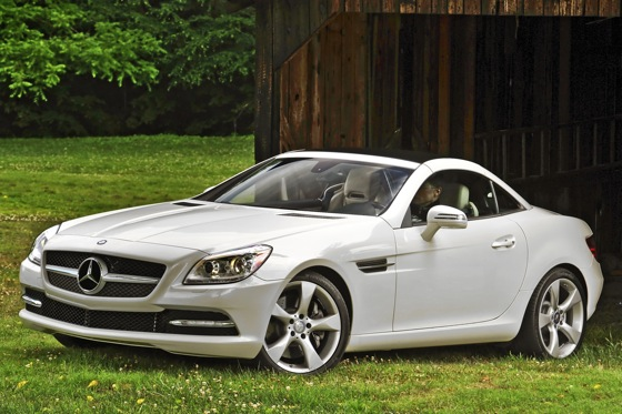 2012 Mercedes-Benz SLK350: First Look featured image large thumb1