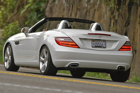 2012 Mercedes-Benz SLK350: First Look featured image large thumb3