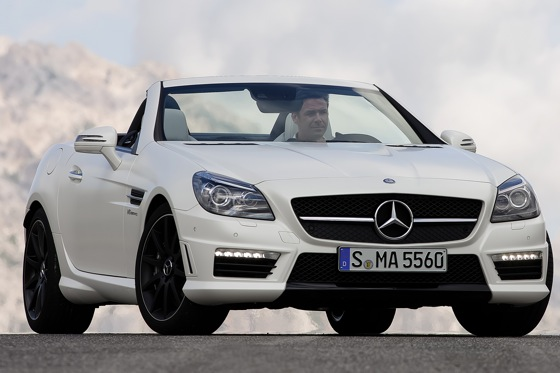 2012 Mercedes-Benz SLK55 AMG: First Drive