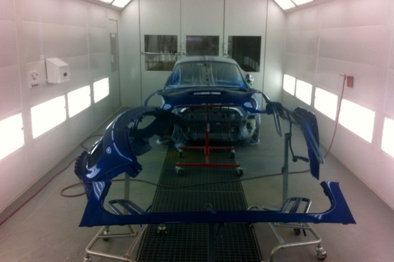 2012 Mini JCW Coupe: Body Shop Repairs featured image large thumb0
