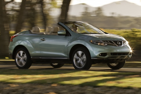 2012 Nissan Murano CrossCabriolet: New Car Review