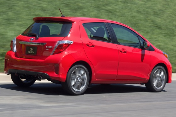 2012 Toyota Yaris: New Car Review featured image large thumb2