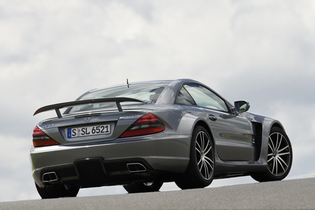 Mercedes-Benz SL65 AMG Black Edition