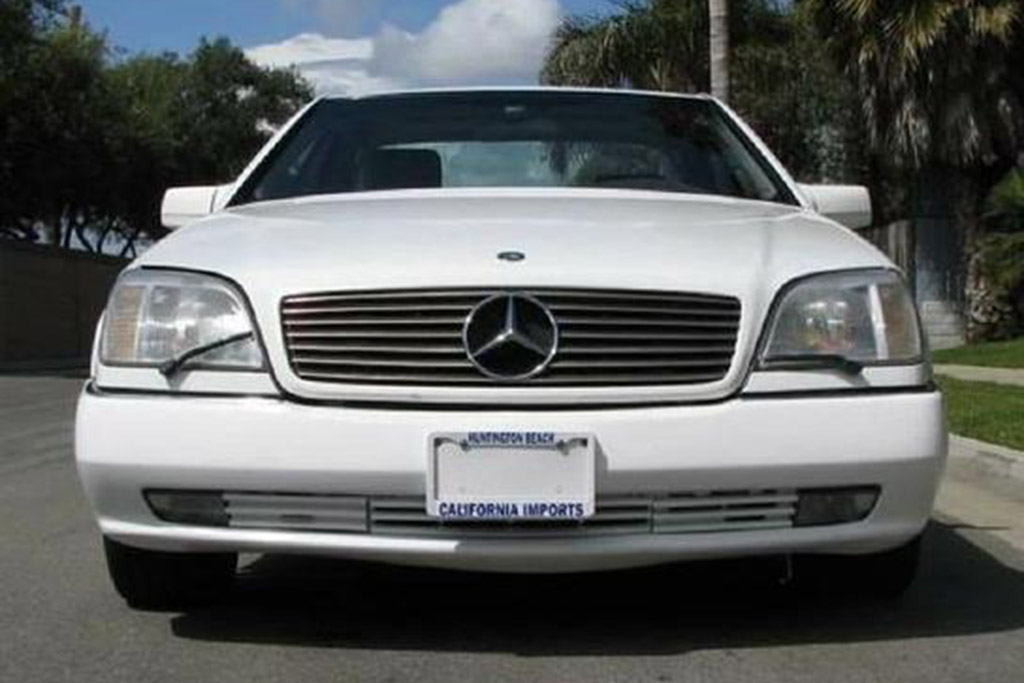 1995 Mercedes-Benz S600 Coupe
