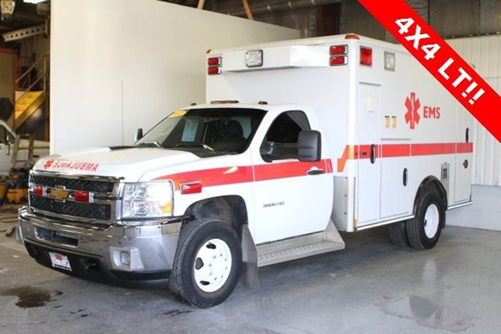 2012 Chevrolet Silverado Ambulance
