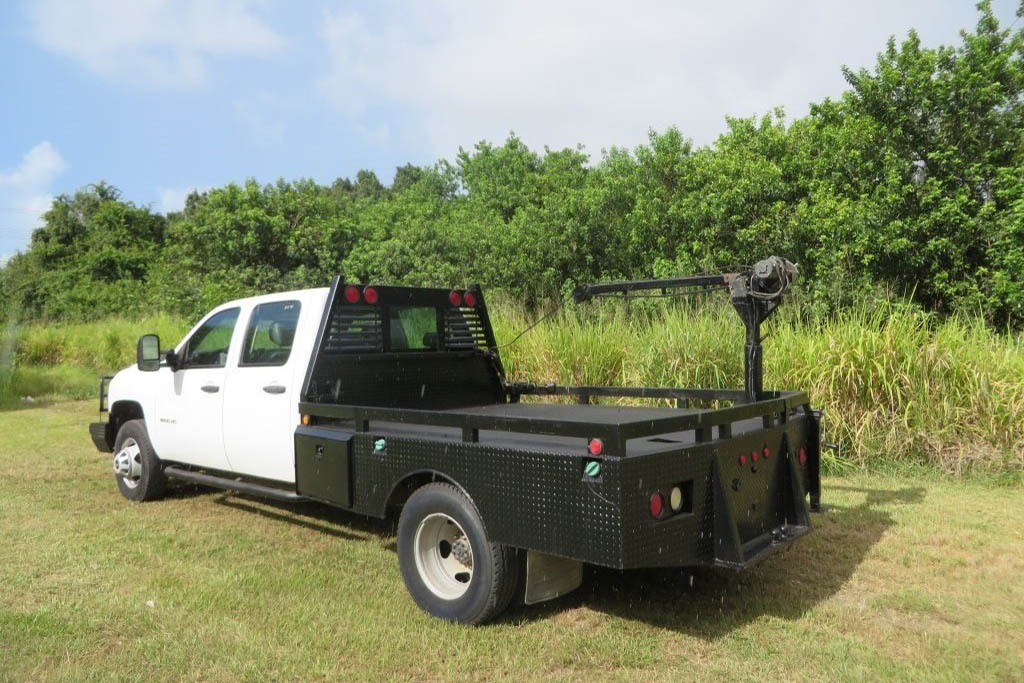 2011 Chevrolet Silverado with Crane Hoist