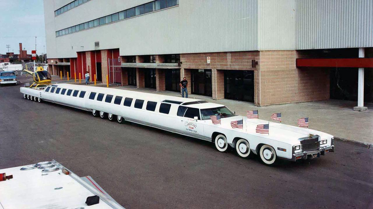 Worlds Longest Limousine