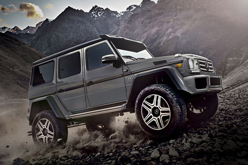 Mercedes-Benz G65 AMG and G500 4x4 Squared