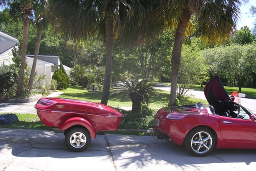 2008 Saturn Sky Red Line (With Trailer)