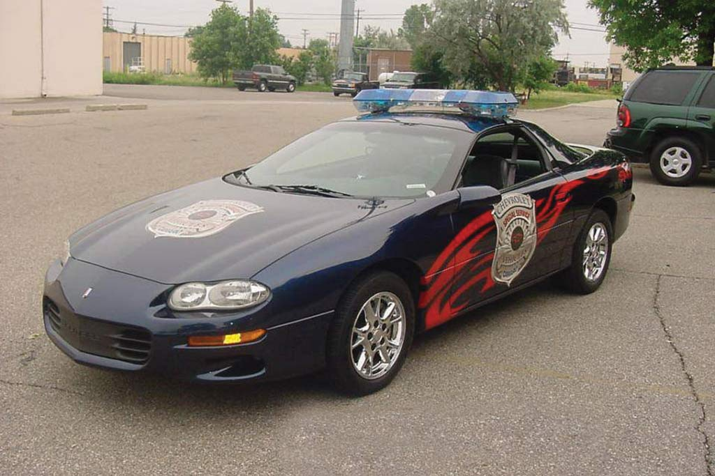 2002 Chevrolet Camaro Police Car Demonstration Unit