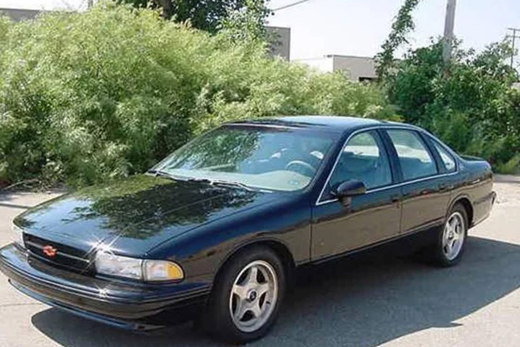 1994 Chevrolet Impala SS -- Factory 6-Speed Manual