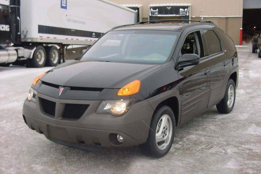 2001 Pontiac Aztek -- The First Aztek