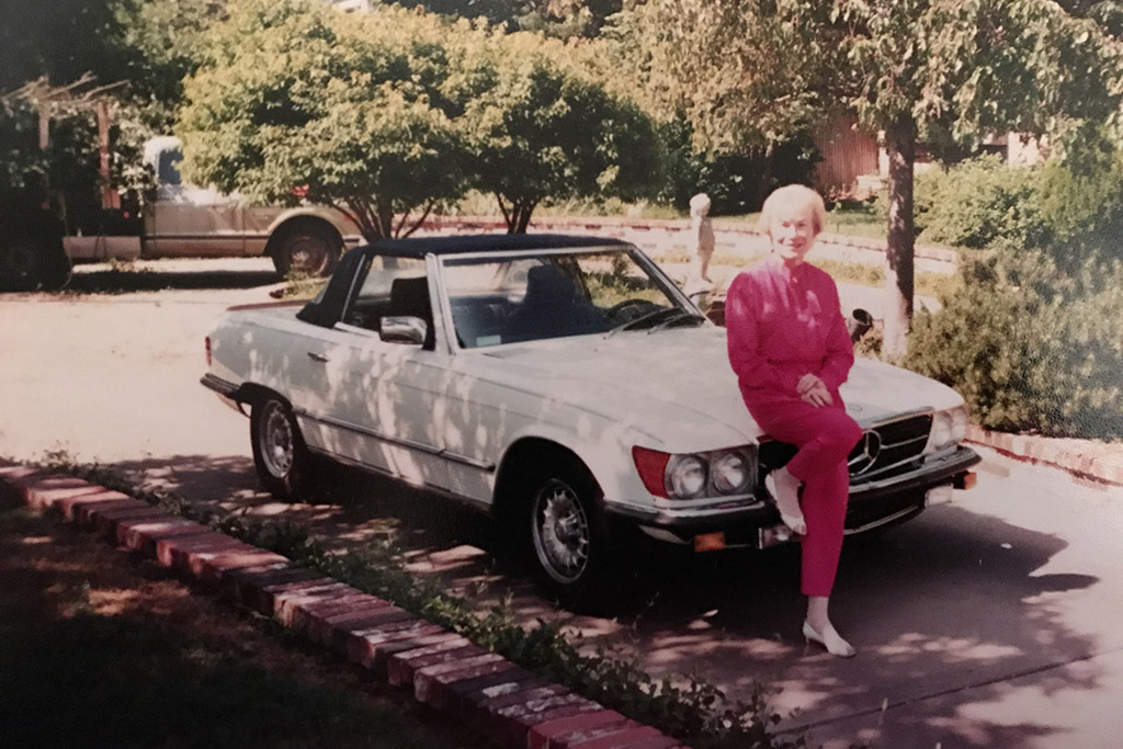 Tyler's Grandma and the Mercedes-Benz 500SL