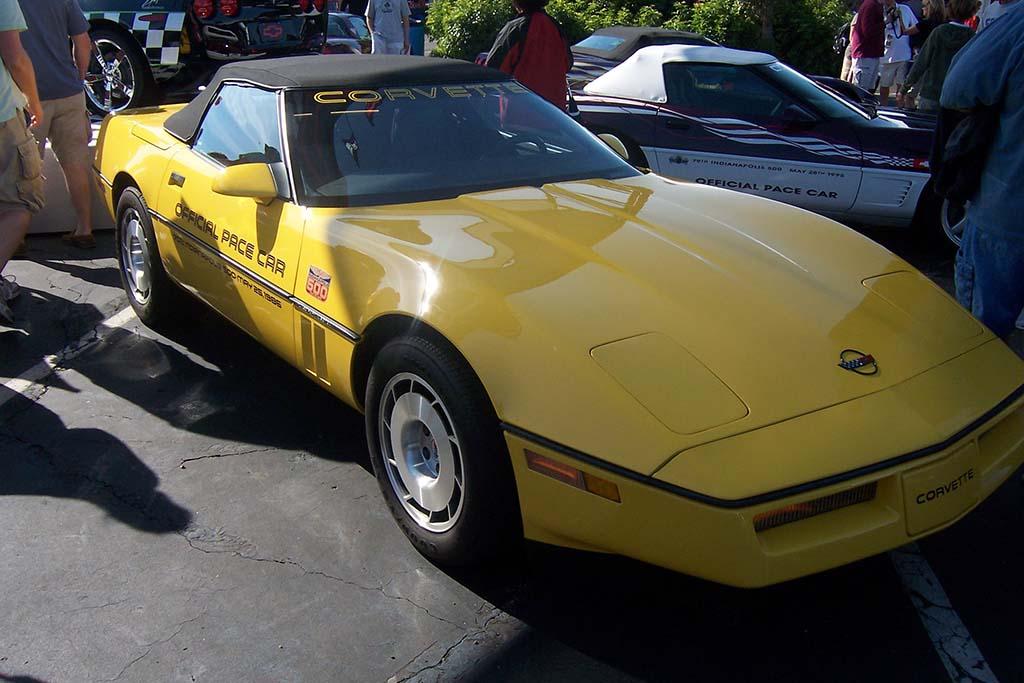 1986: C4 Convertible