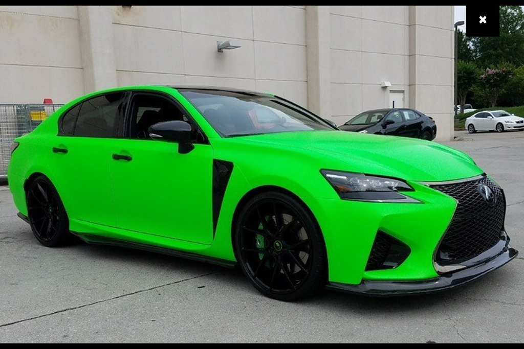Bright-Green 2017 Lexus GS F
